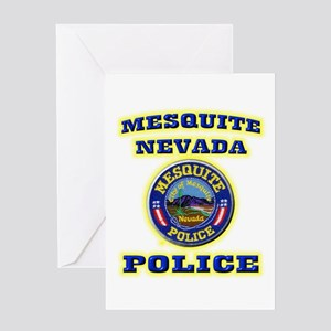 Mesquite Police Greeting Card